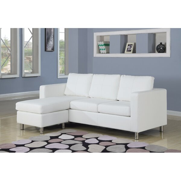 Deimel Reversible Sectional with Ottoman by Orren Ellis