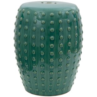 Renee Porcelain Garden Stool by Mistana