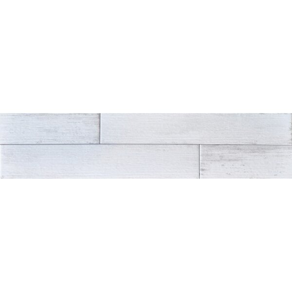 Madera 3 x 17 Porcelain Wood Look Tile in Birch by The Bella Collection