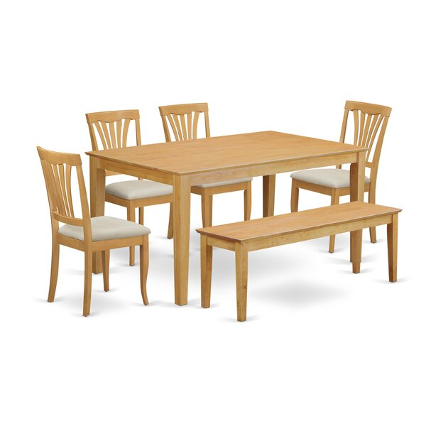 Capri 6 Piece Dining Set By Wooden Importers Cool