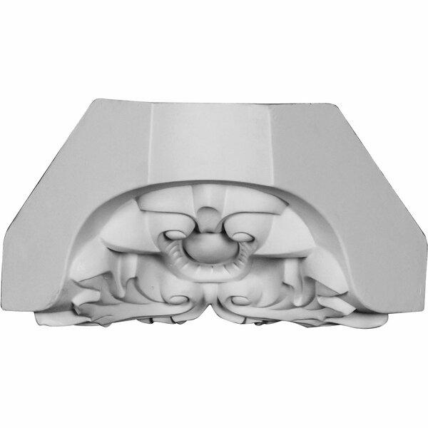 Cole 4 H x 4 W x 5 5/8 D Inside Corner Crown Molding by Ekena Millwork