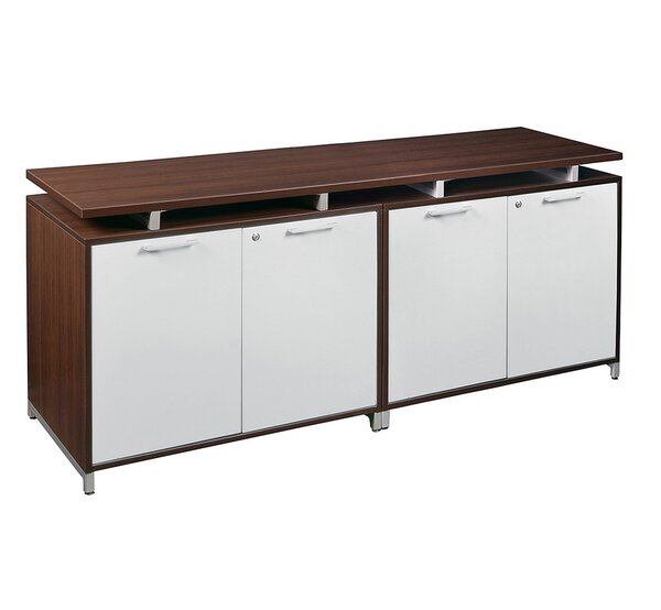 Maverick 4 Door Wood Credenza by Brayden Studio