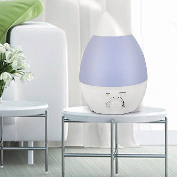 North Point Air 0.5 Gal. Cool Mist Ultrasonic Tabletop Humidifier by Style Asia