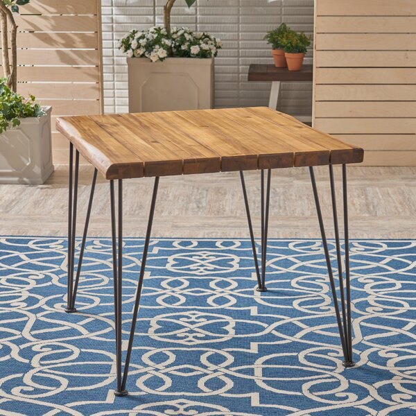 Kendig Solid Wood Dining Table by Williston Forge