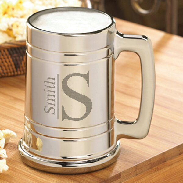Monogrammed Metallic Mug by JDS Personalized Gifts
