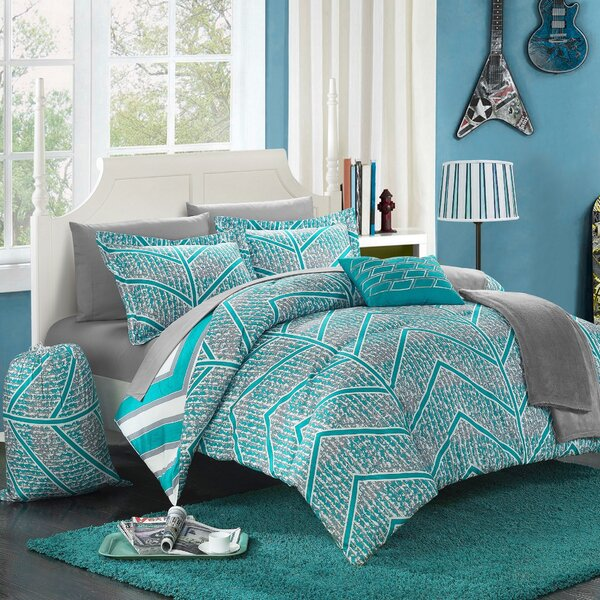 Laredo 8 Piece Twin XL Comforter Set by Chic Home