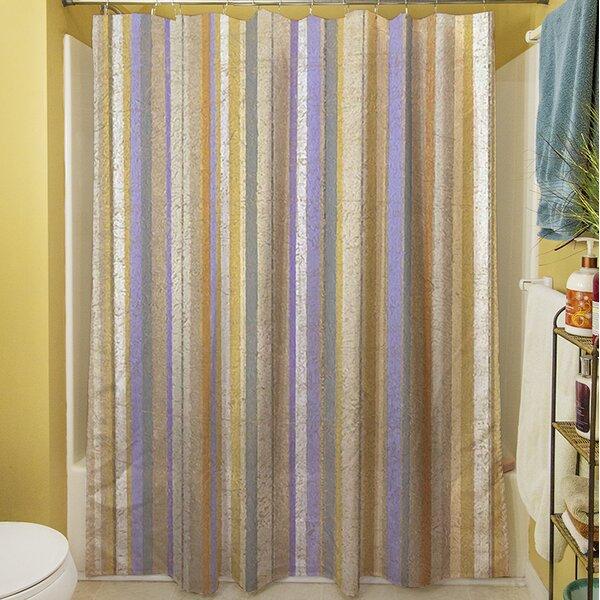 Plum Scene II Shower Curtain by Manual Woodworkers & Weavers