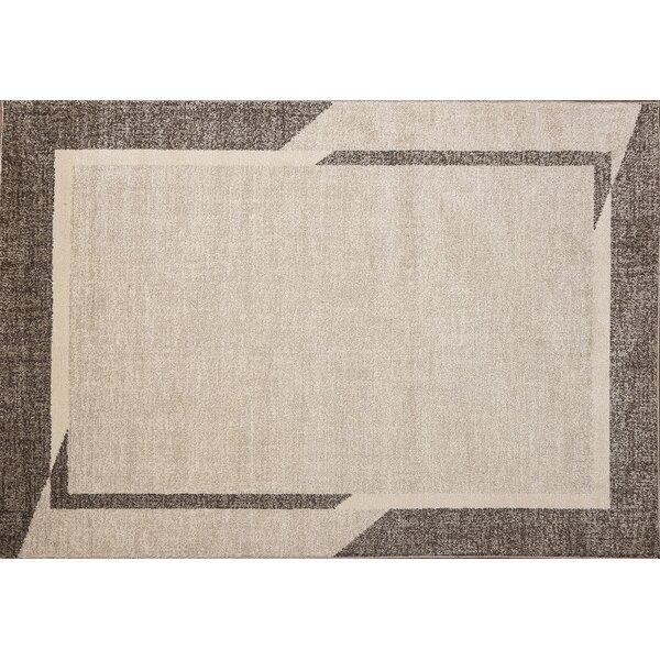 Hatherleigh Fine Sleek Beige Area Rug By Ebern Designs.