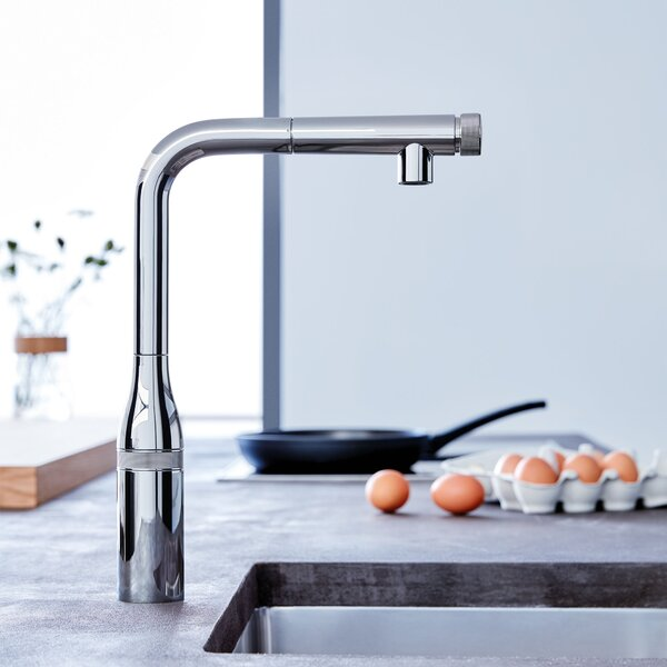 Essence Smartcontrol Pull-Out Touch Bar Faucet