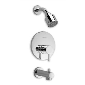 Serin Diverter Bath/Shower Faucet Trim Kit