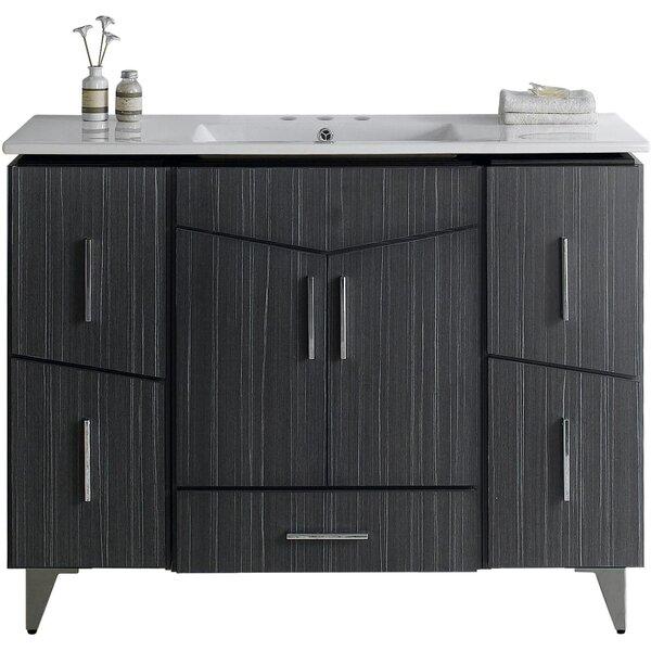 Dunand 48 Single Bathroom Vanity Set by Royal Purple Bath Kitchen