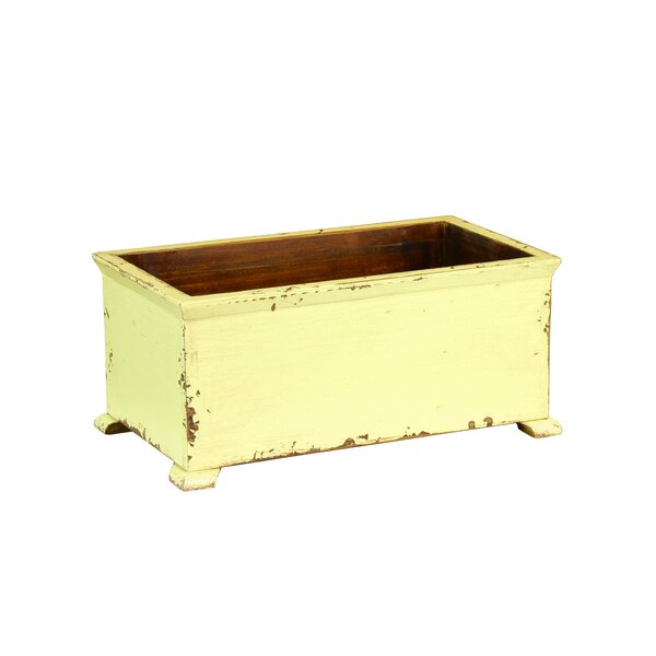 Rexford Wood Planter Box by Bungalow Rose