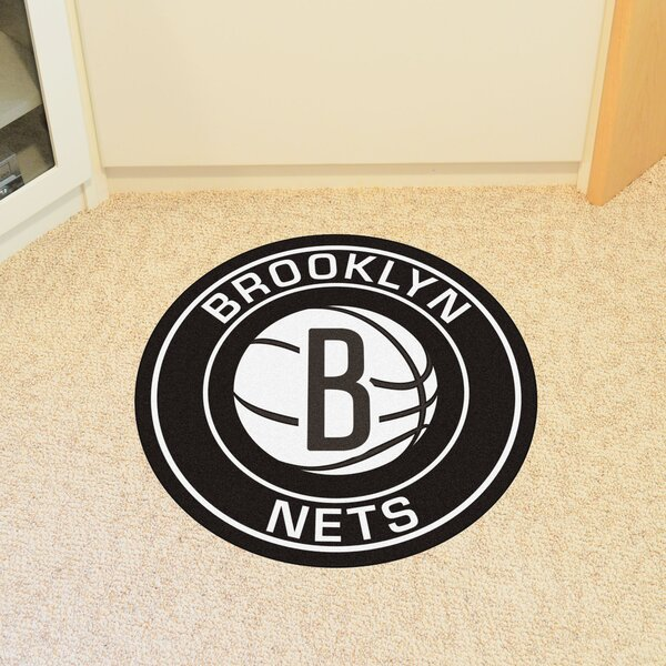NBA Brooklyn Nets Roundel Mat by FANMATS