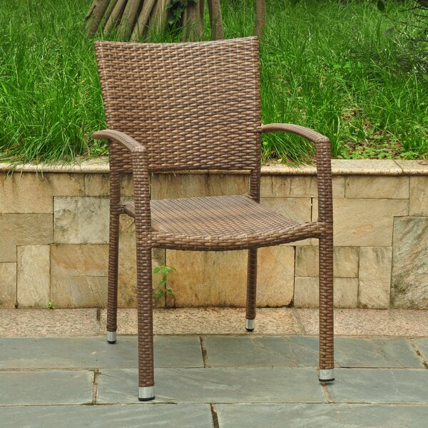 Katzer Stacking Patio Dining Chair (Set Of 4) By Brayden Studio by Brayden Studio Wonderful