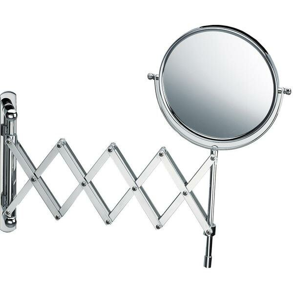 Koziol Swivel and Extendable Makeup/Shaving Mirror by Symple Stuff