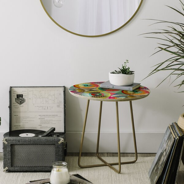 Sharon Turner New York Beauty End Table by East Urban Home