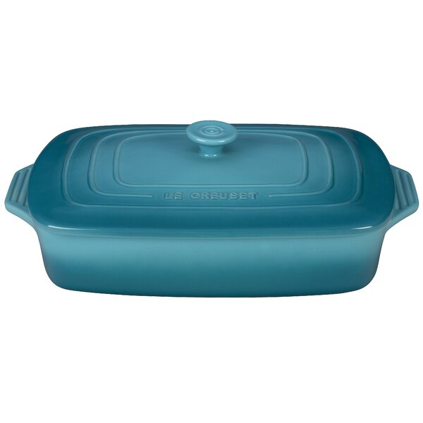 Stoneware Rectangular Covered Casserole by Le Creuset