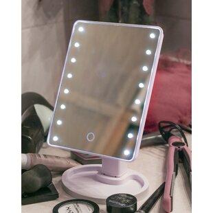 Bargain Dowdell 16 LED Beauty Make Up Rectangular Dresser Mirror ByEbern Designs