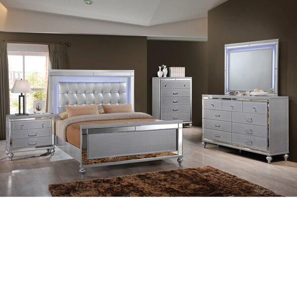 Maplewood Sleigh 6 Piece Bedroom Set by Rosdorf Park Rosdorf Park