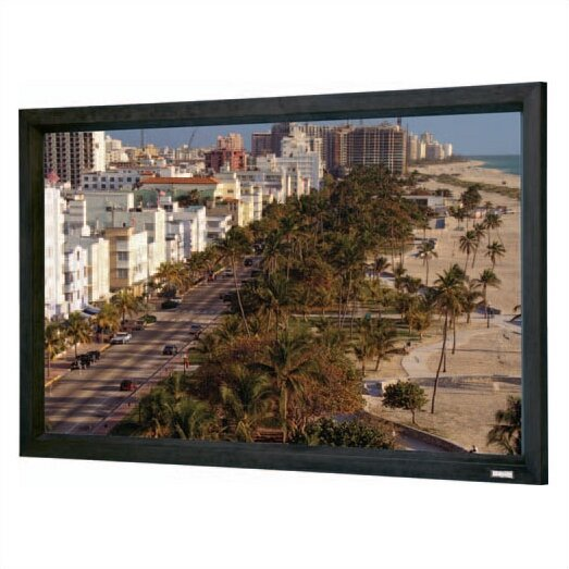 Cinema Contour Matte White Fixed Frame Projection Screen by Da-Lite