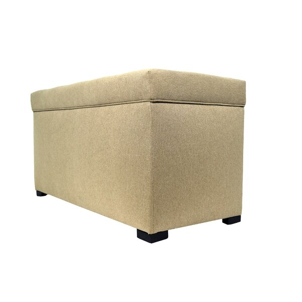 Hadassah Upholstered Storage Bench by Winston Porter
