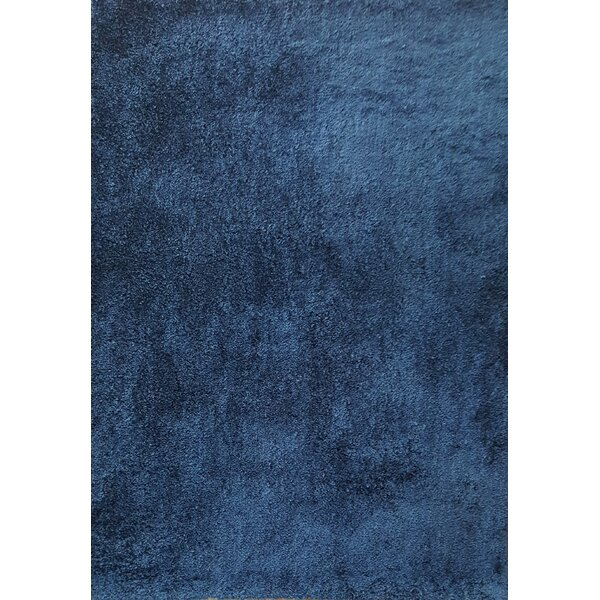 Ales Royal Blue Area Rug by Noble House