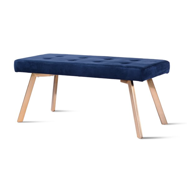 Glennville Upholstered Bench by Everly Quinn
