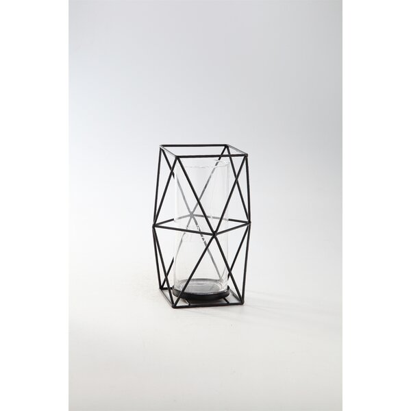Glass Lantern by Diamond Star Glass