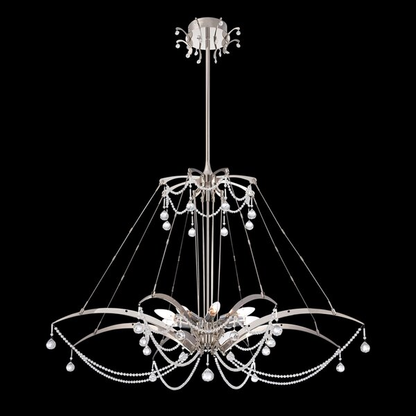 Gambari 8-Light Unique / Statement Geometric Chandelier By Eurofase