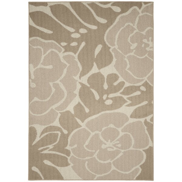 Valencia Tan/Ivory Area Rug by Garland Rug