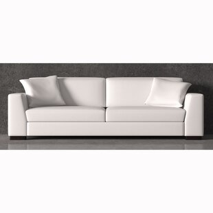 Vanita Top Grain Leather Sofa