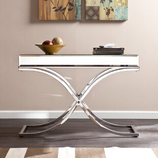Jeannie Mirrored Console Table