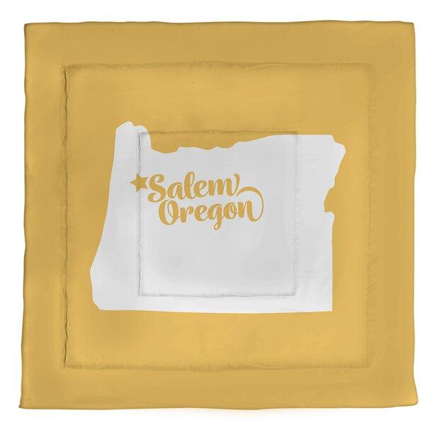 Salem Oregon Single Reversible Comforter