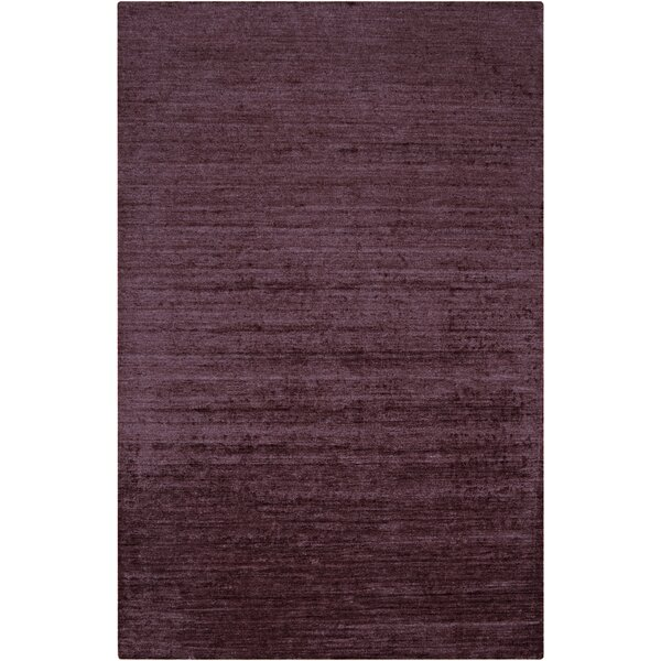 Adrian Plum Solid Area Rug by Latitude Run