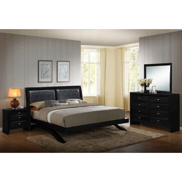 Blemerey 4 Piece Bedroom Set by Roundhill Furniture