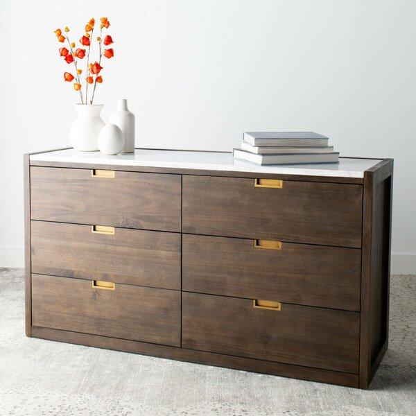 Jeanie 6 Drawer Double Dresser by Brayden Studio