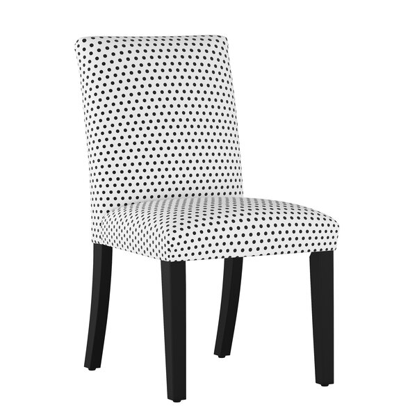 Bye Polka Dot Upholstered Dining Chair by Wrought Studio