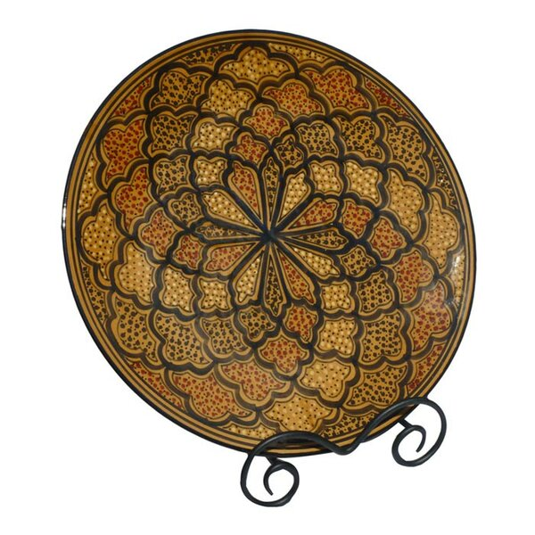 Honey Design Round Platter by Le Souk Ceramique