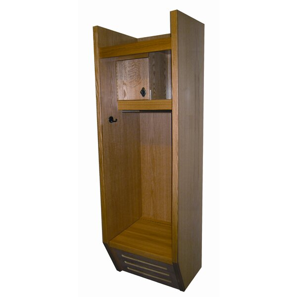1 Tier 1 Wide Gym Locker by Hallowell