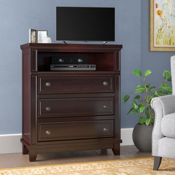 Wegman 3 Drawer Media Chest by Astoria Grand