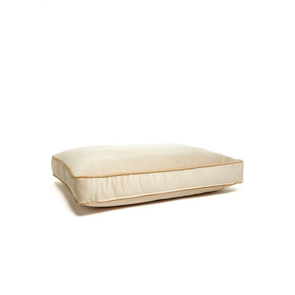 Microsuede Foam and Faux Down Cushion Dog Bed by B&G Martin