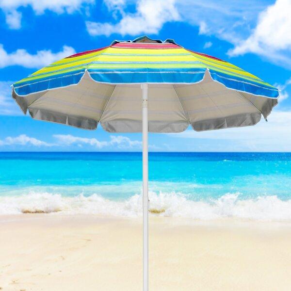 Leiter 5' Beach Umbrella by Highland Dunes