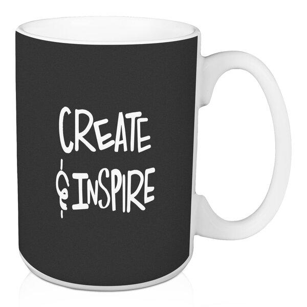 Create & Inspire 15 oz. Coffee Mug by Jaxn Blvd