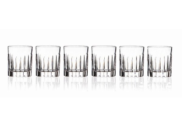 Timeless RCR 4 oz. Crystal Shot Glass (Set of 6) by Lorren Home Trends