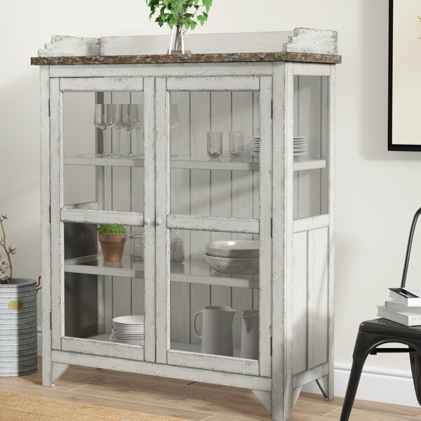 Fredericksburg Console Curio Cabinet by Laurel Foundry Modern Farmhouse