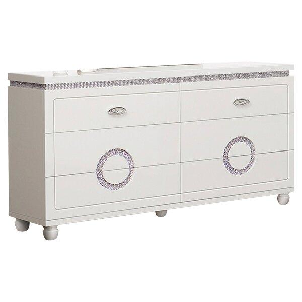 Rawles 6 Drawer Dresser by Rosdorf Park