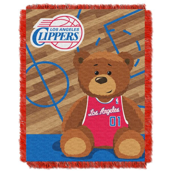 NBA Clippers Half Court Baby Throw by Northwest Co.