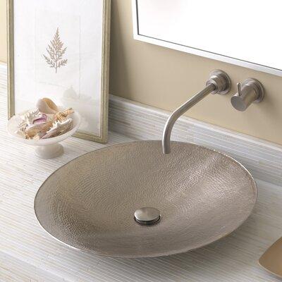 Native Trails Circula Sink Metal Brushed Nickel Bathroom Sinks