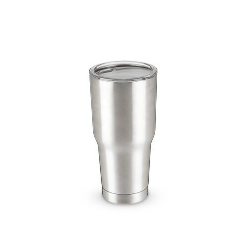 Brisk Double Walled 30 oz. Glass Tumbler by True Brands