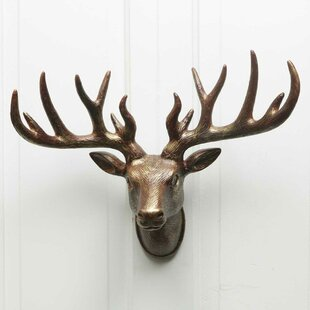 Elegant Stag Head Wall Décor